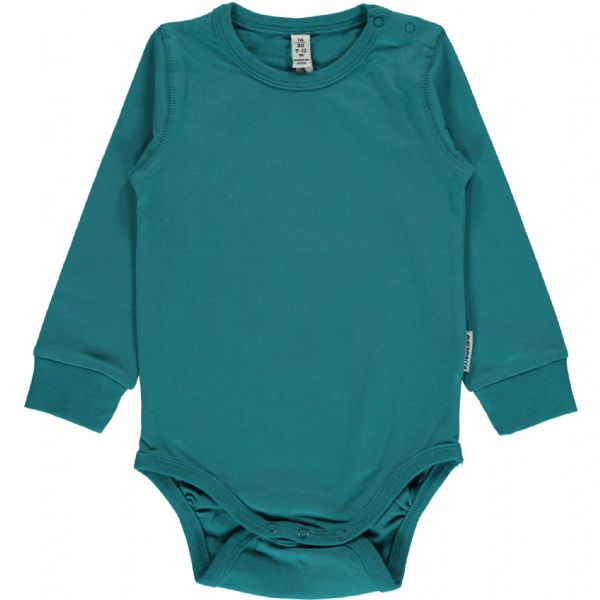 Maxomorra Long Sleeve Body Soft Petrol